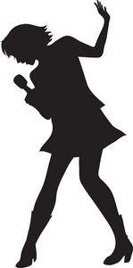 149x300 Soul Singer Silhouette International Night Poster