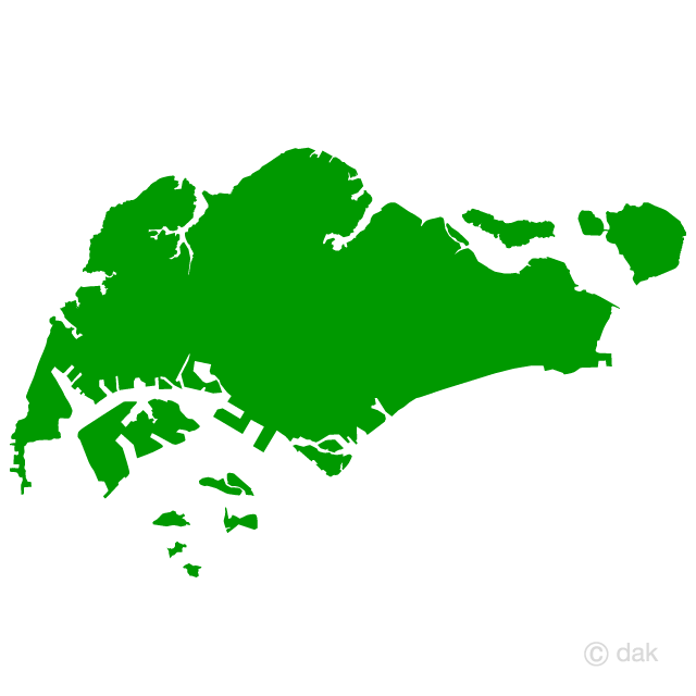 640x640 Free Singapore Map Silhouette Cartoon Amp Clipart