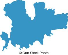 236x194 Map Silhouette Vector Clipart Royalty Free. 56,073 Map Silhouette