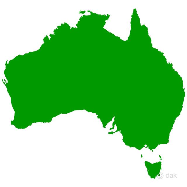 640x640 Free Australian Map Silhouette Cartoon Amp Clipart
