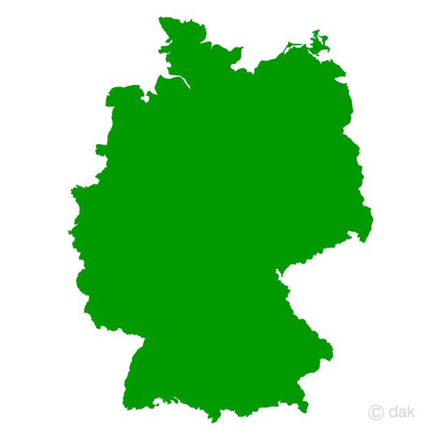 640x640 Free German Map Silhouette Cartoon Amp Clipart