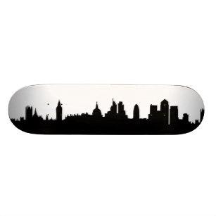 307x307 City Silhouettes Skateboard Decks Zazzle