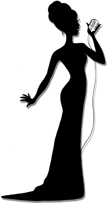 Singer Silhouette Clip Art at GetDrawings.com | Free for ...