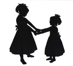 236x212 Image Result For Silhouette Little Black Girl Canvas