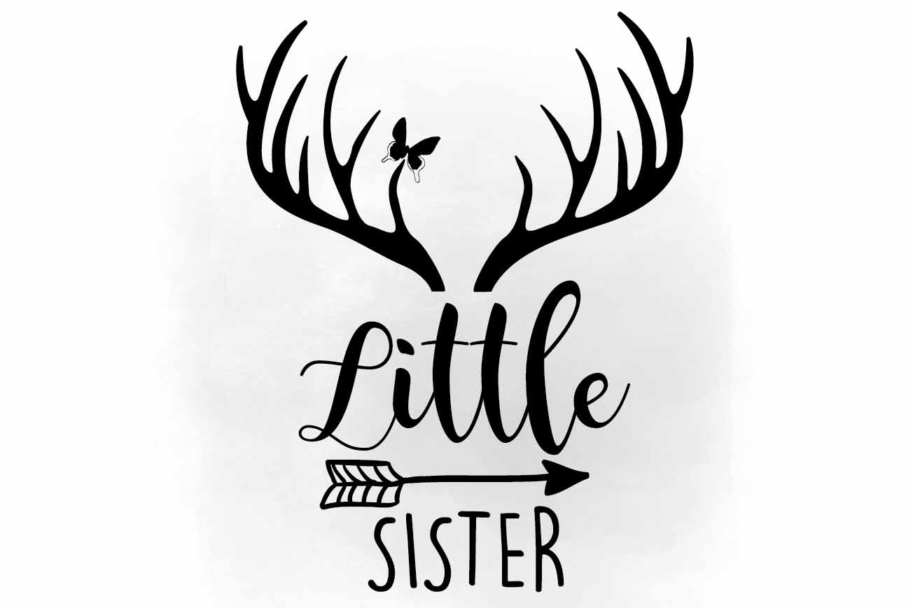 1304x869 Little Sister Svg Clipart, Little Siste Design Bundles
