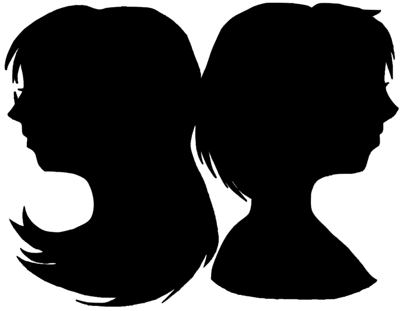800x617 Sister Silhouettes by alaisiaga on DeviantArt