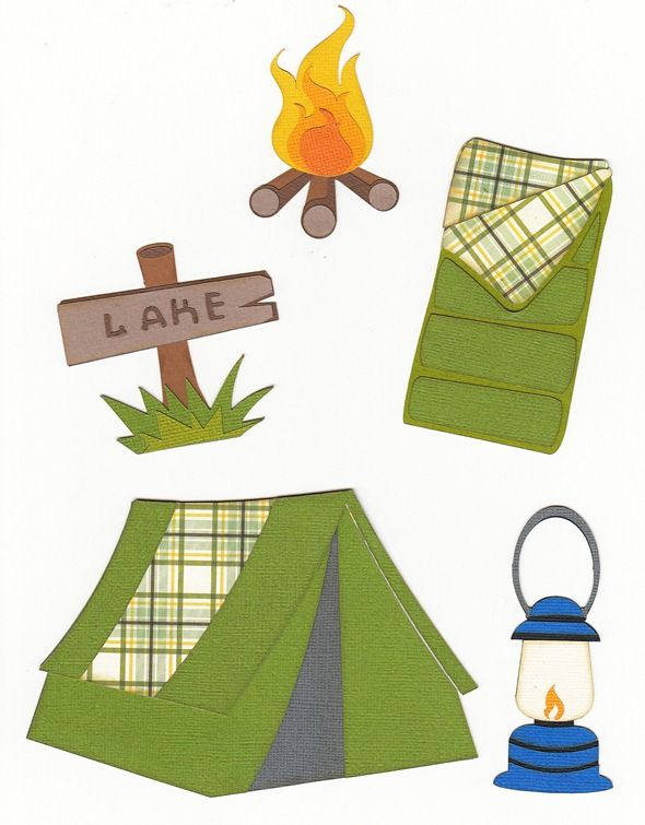 590x755 Free Svg Camping Set This Site Has Darling Free Cutting