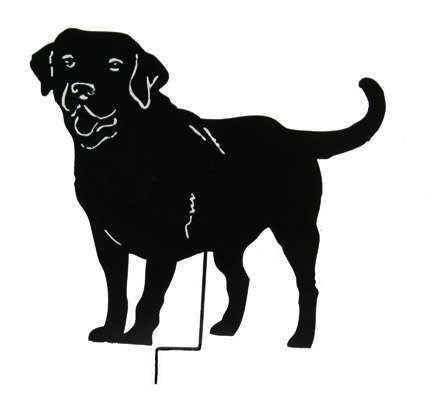 432x402 Labrador Retriever Clipart Black And White