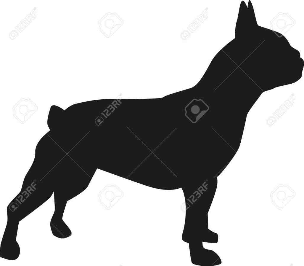 1027x897 French Bulldog Sitting Silhouette Of Silhouettes Pug French