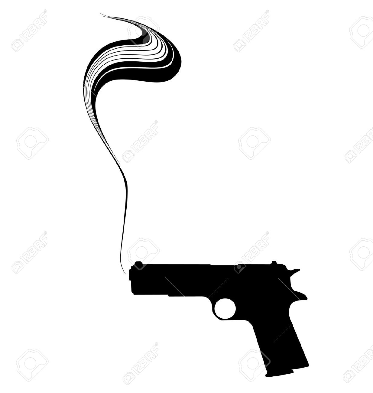 1234x1300 Pistol Clipart Silhouette Many Interesting Cliparts