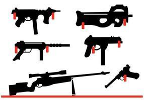 286x200 Pistol Free Vector Art