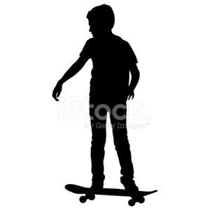 300x300 Skateboarders Premium Clipart