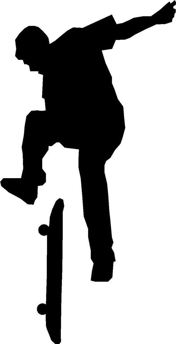 570x1110 Skateboarding Silhouette