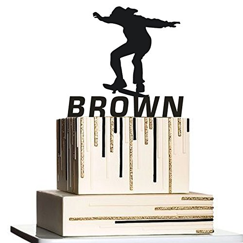 500x500 Skateboarding Silhouette Custom Personalized With Your