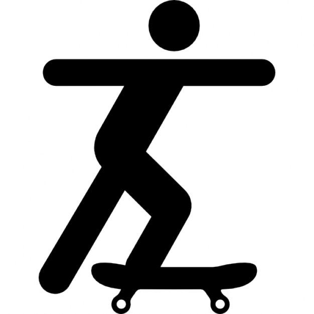 626x626 Skateboard Silhouette Vectors, Photos And Psd Files Free Download