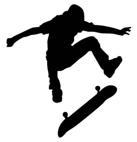 462x480 Skater Wall Decal Silhouettes, Google And Searching