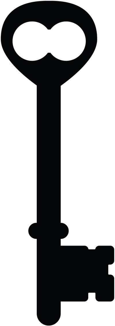 400x1128 Old Key Silhouette Skeleton Key Silhouette 09 By ~taeliac