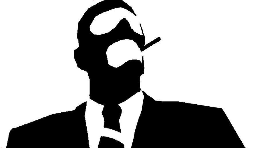 900x515 Business Man With Ski Mask Stencils Printable Stencils