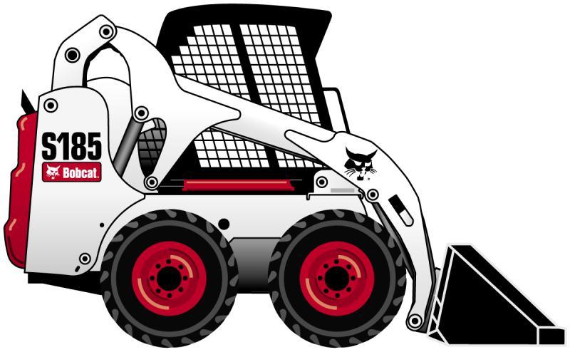 800x494 Skid Steer Clip Art