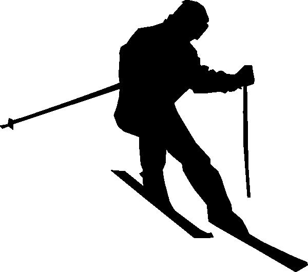 600x530 Resized Skier Clip Art