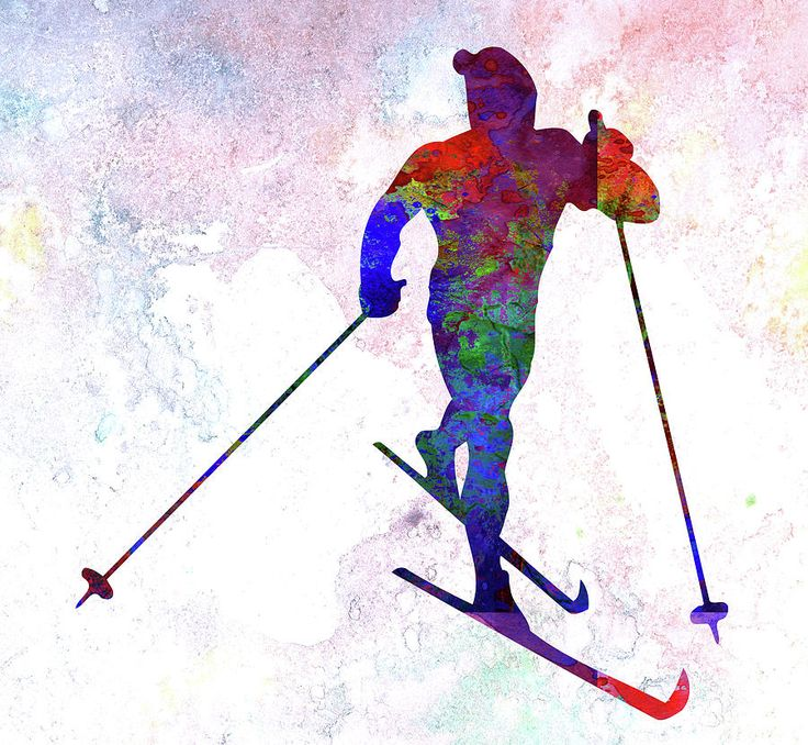 736x678 13 Best Skier Images On Silhouette, Skiing And Cross