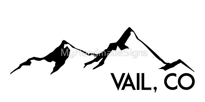 800x400 Vail Colorado Ski Skiing Mountain Mountains Skiing Skis Silhouette