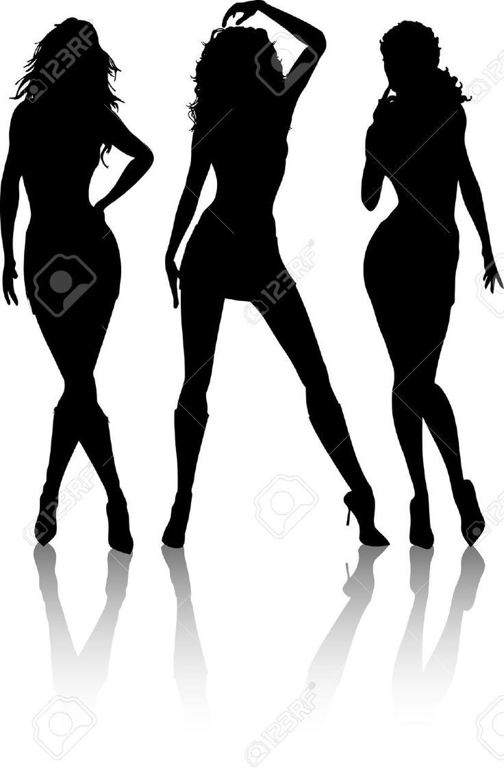 Skinny Girl Silhouette