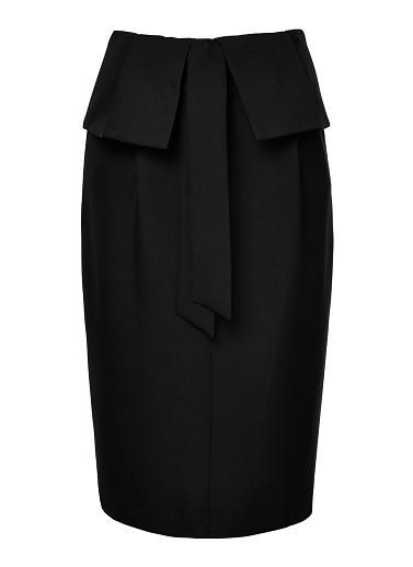 377x518 Polyester Paper Bag Waist Skirt. Comfortable Yet Neat Fitting