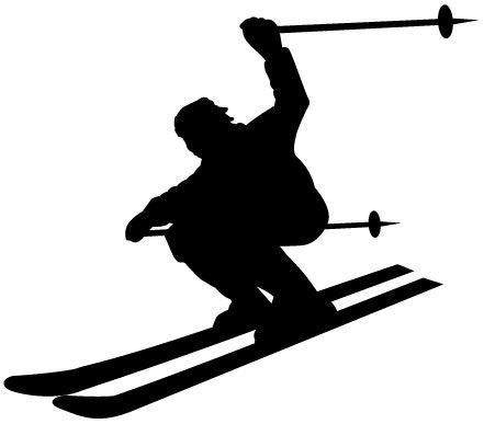 441x387 32 Best Skisnow Silhouettes Images On Child Room