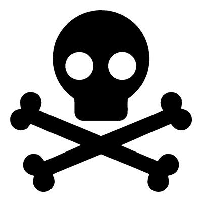 400x400 Skull And Crossbones Stencil Idea Pirates Party