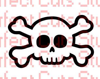 340x270 Skull Silhouette Etsy