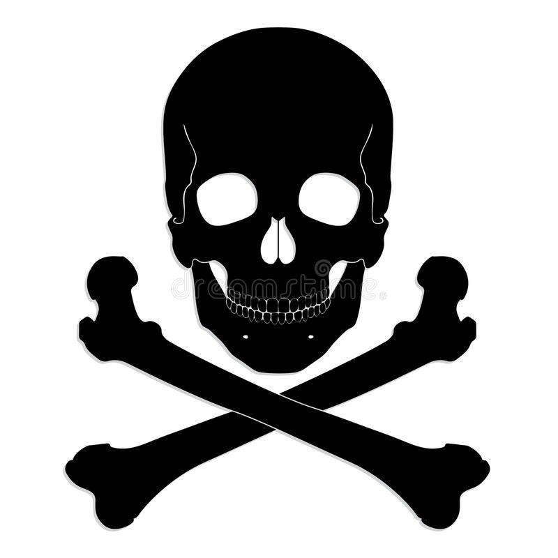 800x800 Crossbones Silhouette Beautiful Silhouette Skull And Crossbones