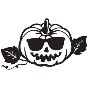 300x300 Silhouette Design Store Cool Pumpkin Sophie Gallo Design