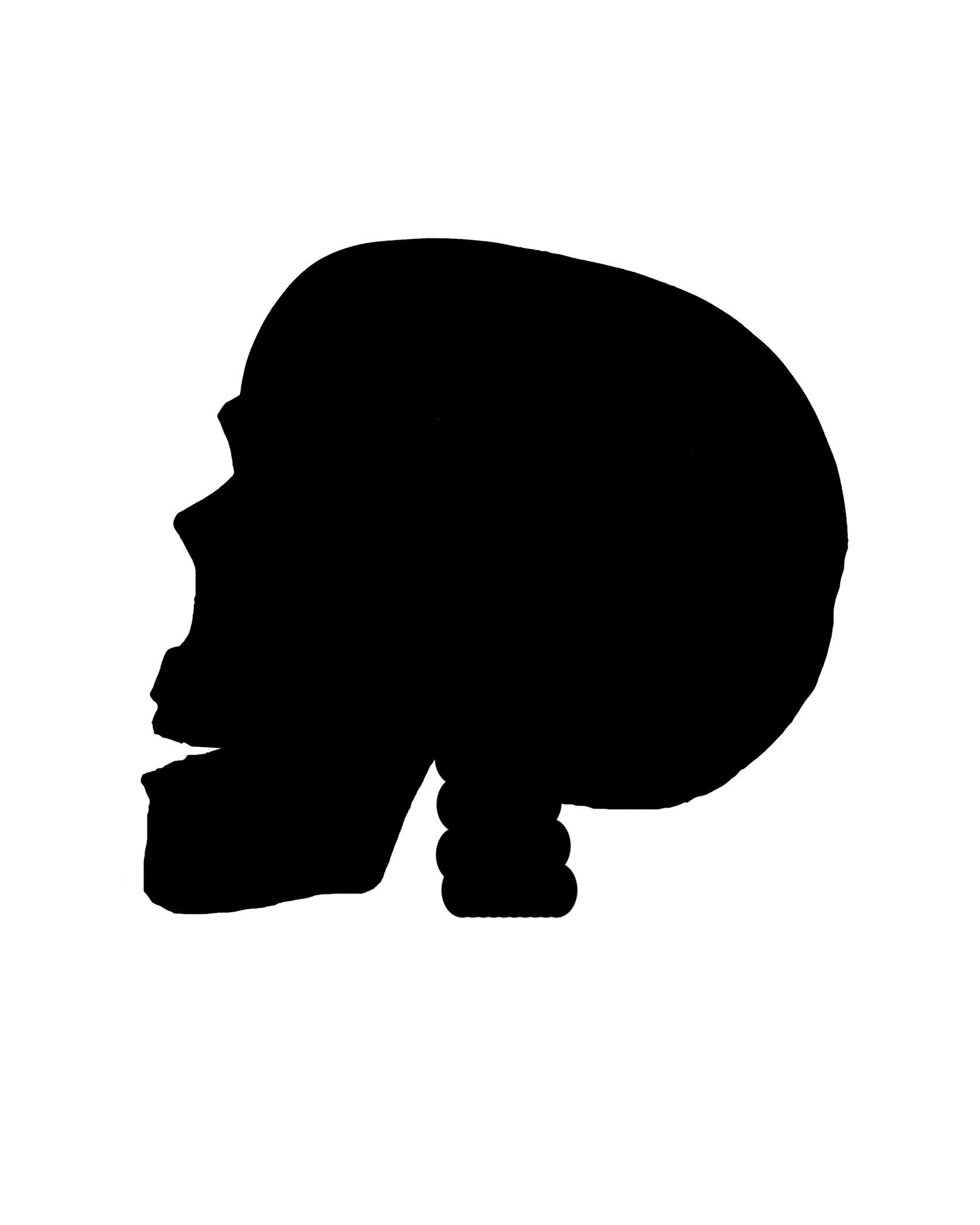 1673x2091 Skull Silhouette By Seiyastock