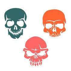 236x236 Sugar Skull Cuttable Design Cut File. Vector, Clipart, Digital