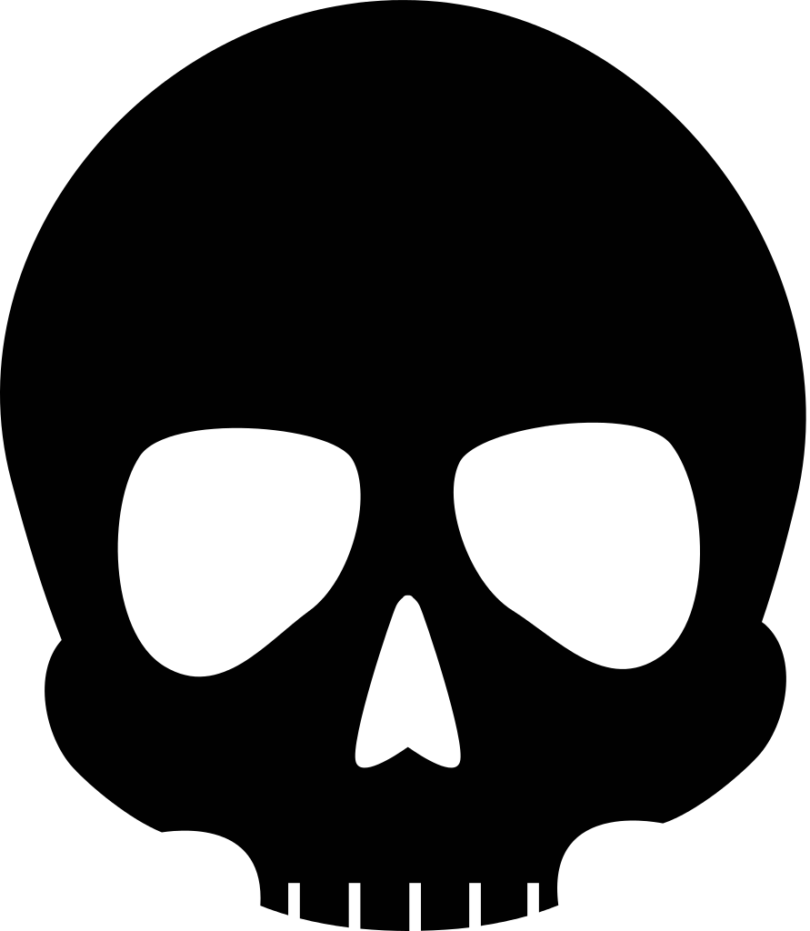 891x1024 Skull Icons