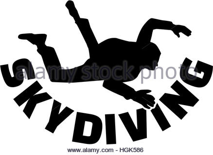 438x320 Skydiver. Illustration Stock Vector Art Amp Illustration, Vector