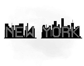 340x270 New York City Svg Etsy