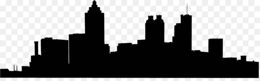 900x280 Atlanta Skyline Silhouette Clip Art