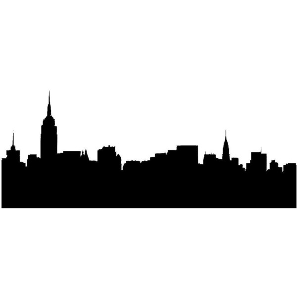 600x600 New York Skyline Liked On Polyvore Polyvore