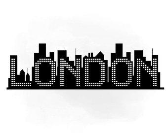 340x270 Silhouette New York City Skyline Etsy