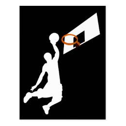 260x260 Slam Dunk Basketball Player Postcards Zazzle