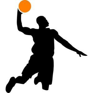 300x300 Slam Dunk Basketball Stencil By Crafty Stencils