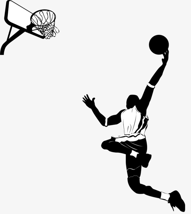 650x730 Basketball Player, Play Basketball, Basketball Silhouette Png