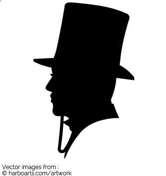 335x355 Download Gentleman Profil Silhouette