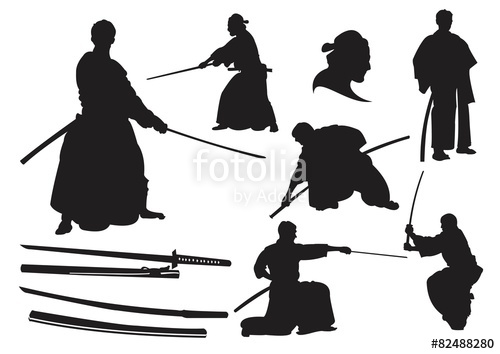 500x354 Japanese Samurai Warrior