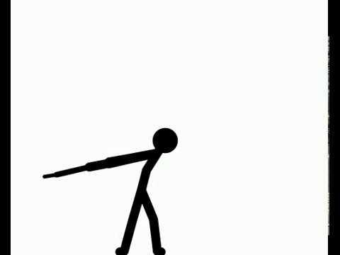 480x360 Stick Figure Sword Slash (Pivot Animation)