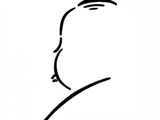 628x472 Alfred Hitchcock Silhouette By Felixmcallister