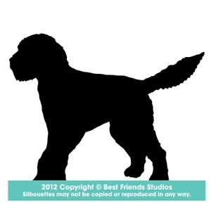 300x300 Goldendoodle Silhouette