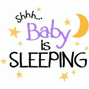 300x300 Silhouette Design Store Baby Sleeping Baby Girls (Scrap)book